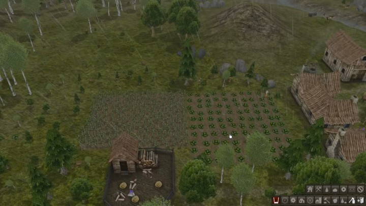 Farming During the Rainy Season in Banished