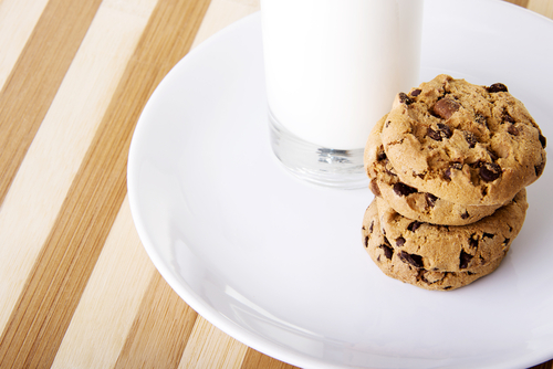 Milk and Cookies make everything better