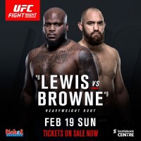 UFC Fight Night 105: Lewis vs. Browne