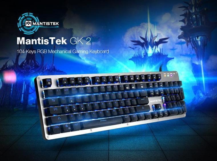MantisTek GK2 Mechanical Keyboard