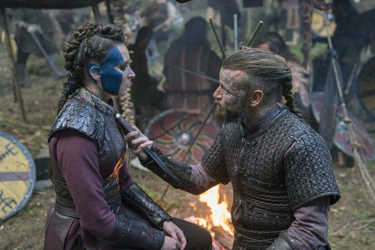 Vikings Season 5 Episode 10 — Astrid and Harald