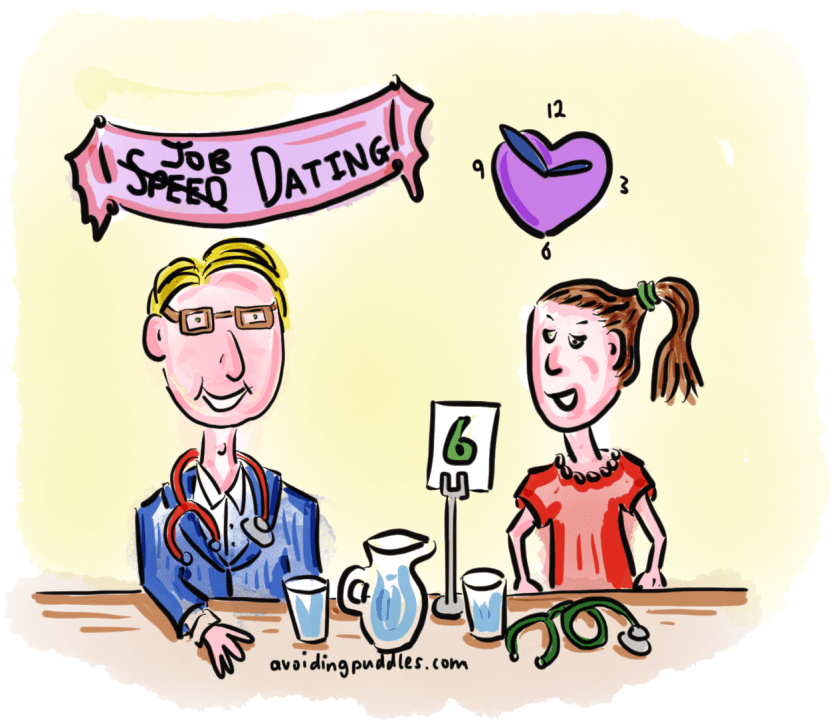 GP Job Speed Dating Pic