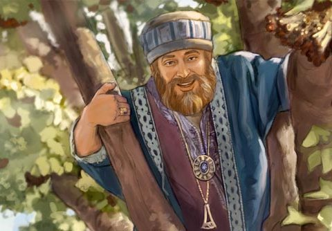 Zaccheus, sorry in word and deed