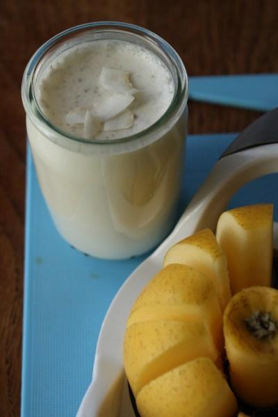 Yaourt lait de coco