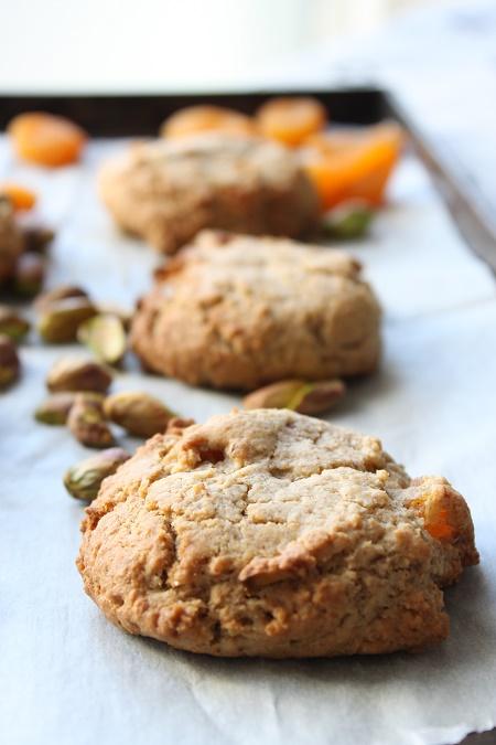Cookies abricots et pistaches