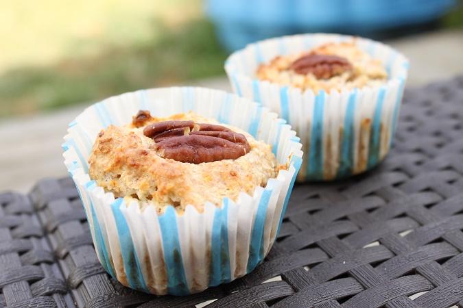Muffin noix de coco chocolat blanc