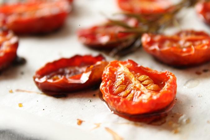 tomate cerise confite