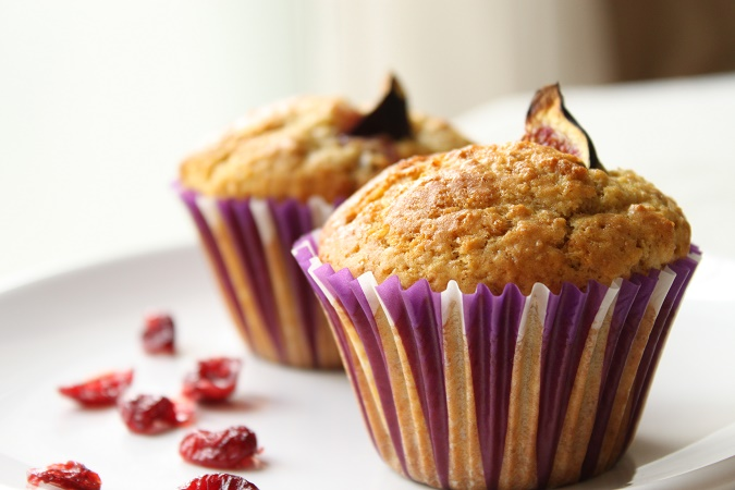 Muffins figues et cranberries