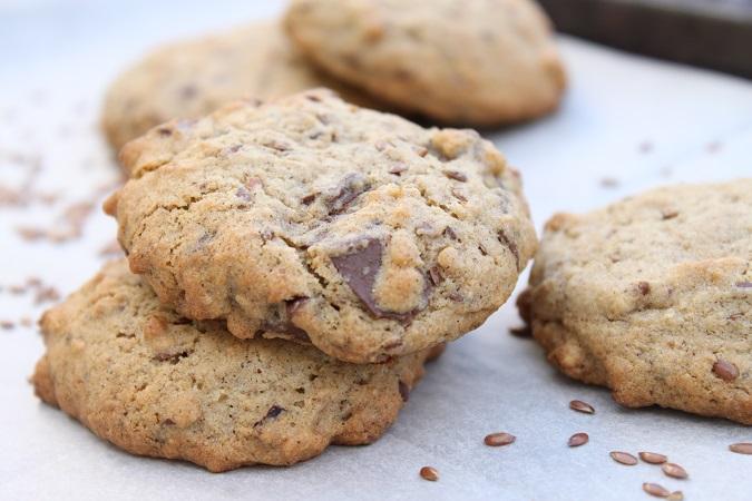Cookies sarrasin chocolat noisette