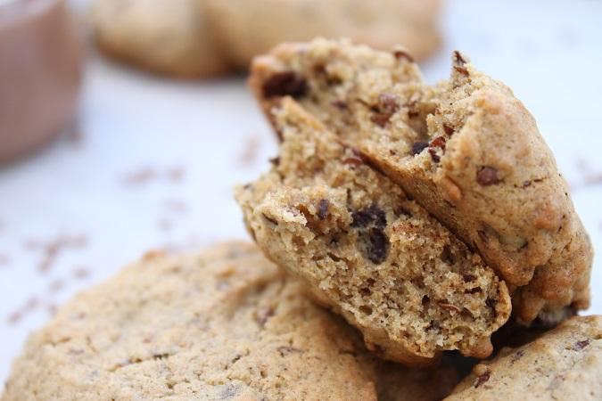 Cookies chocolat noisette et sarrasin