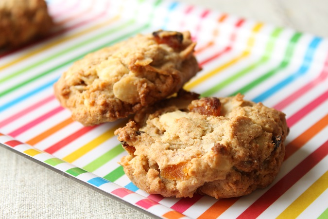 Cookies abricot amande