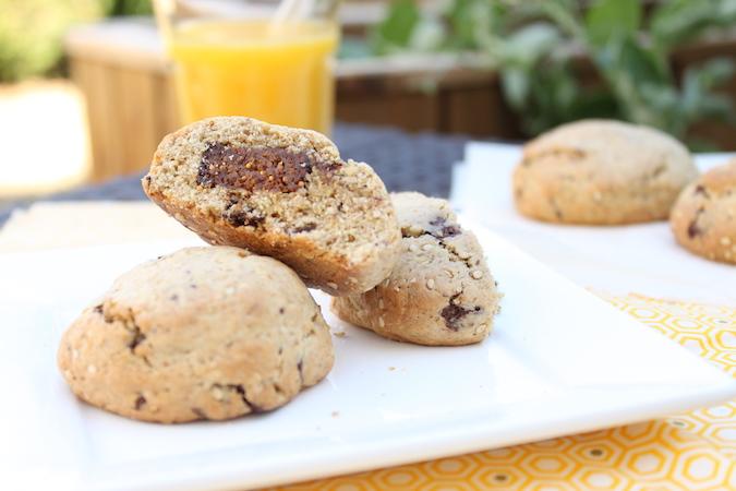 Cookies fourrés à la figue