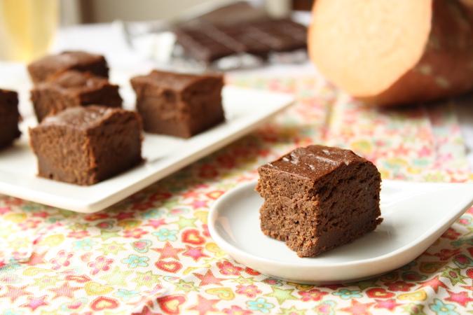gâteau fondant chocolat patate douce sans beurre sans lactose