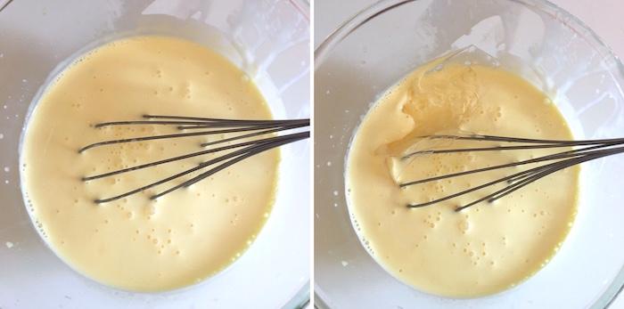Entremet à la framboise crémeux chocolat blanc biscuit madeleine au thé matcha