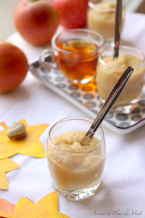 Compote de pomme et châtaigne