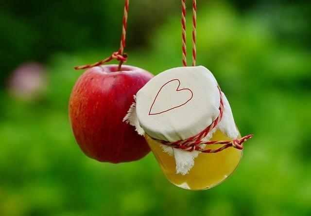 pommes et vinaigre de cidre