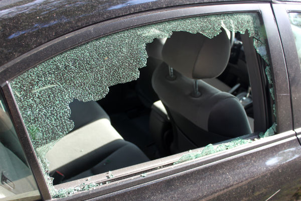 Image result for broken car window