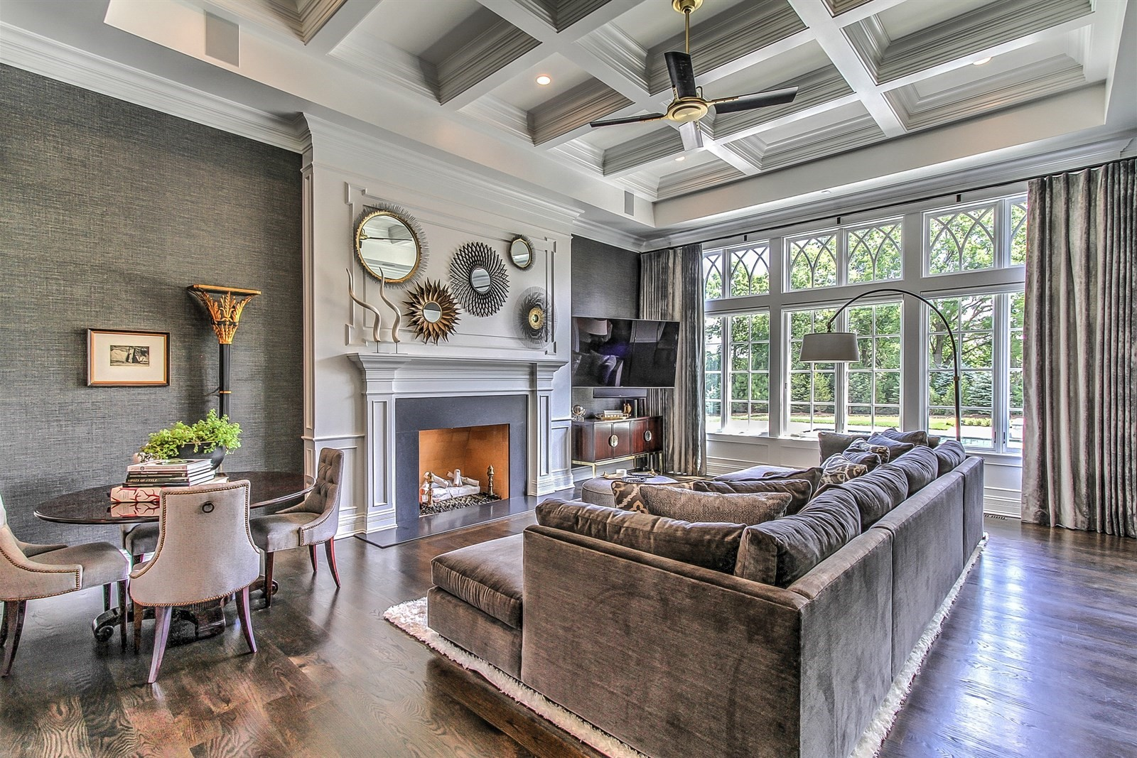 beautiful Living room with handcrafted details