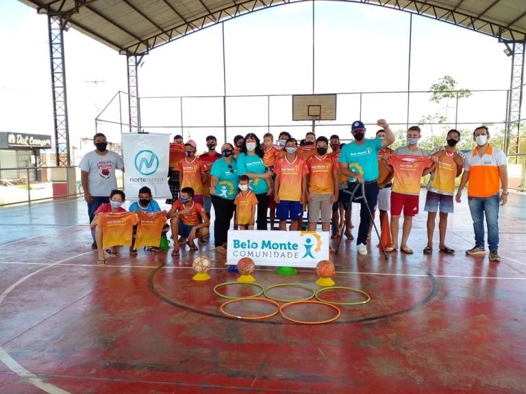 Alunos do projeto / Foto: Divulgação Norte Energia