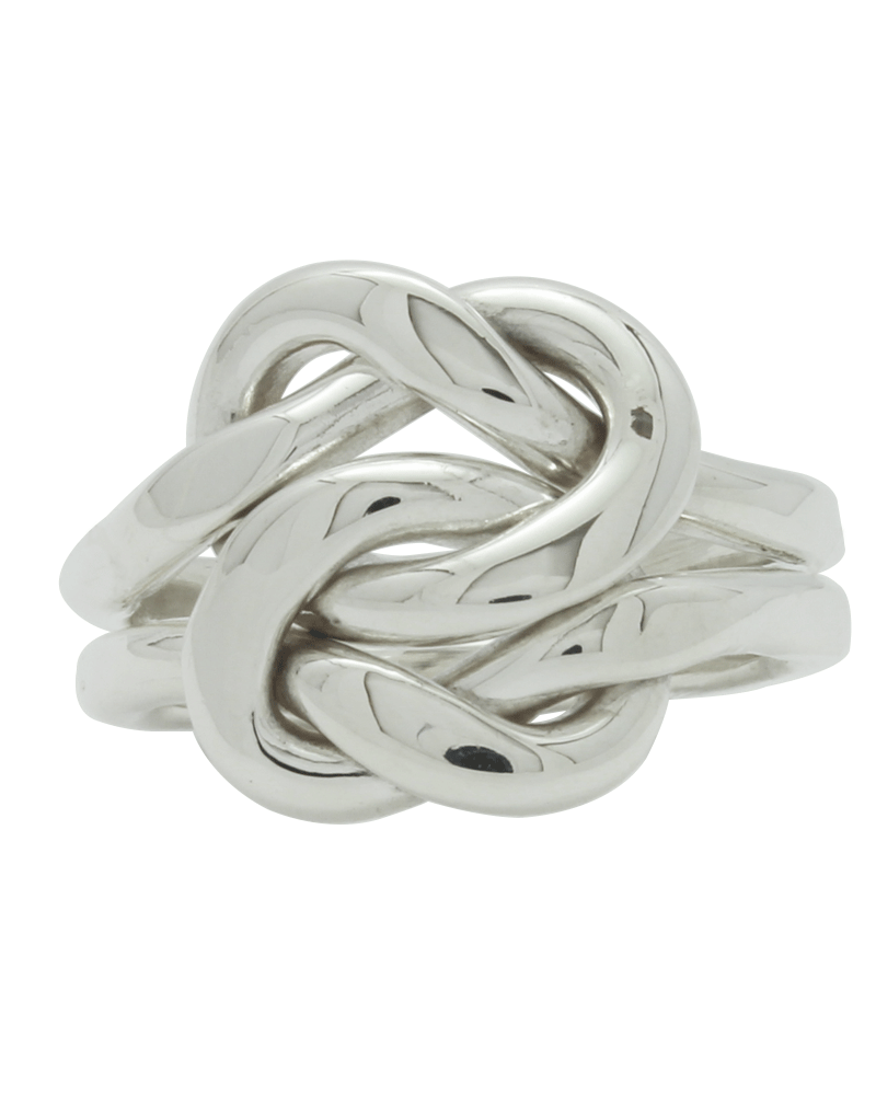 Sterling Lovers Knot