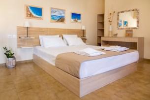Avra Apartments, Kalyves, Crete - Levantes bedroom