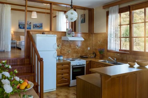 Avra Apartments, Kalyves, Crete - Sirokos kitchen
