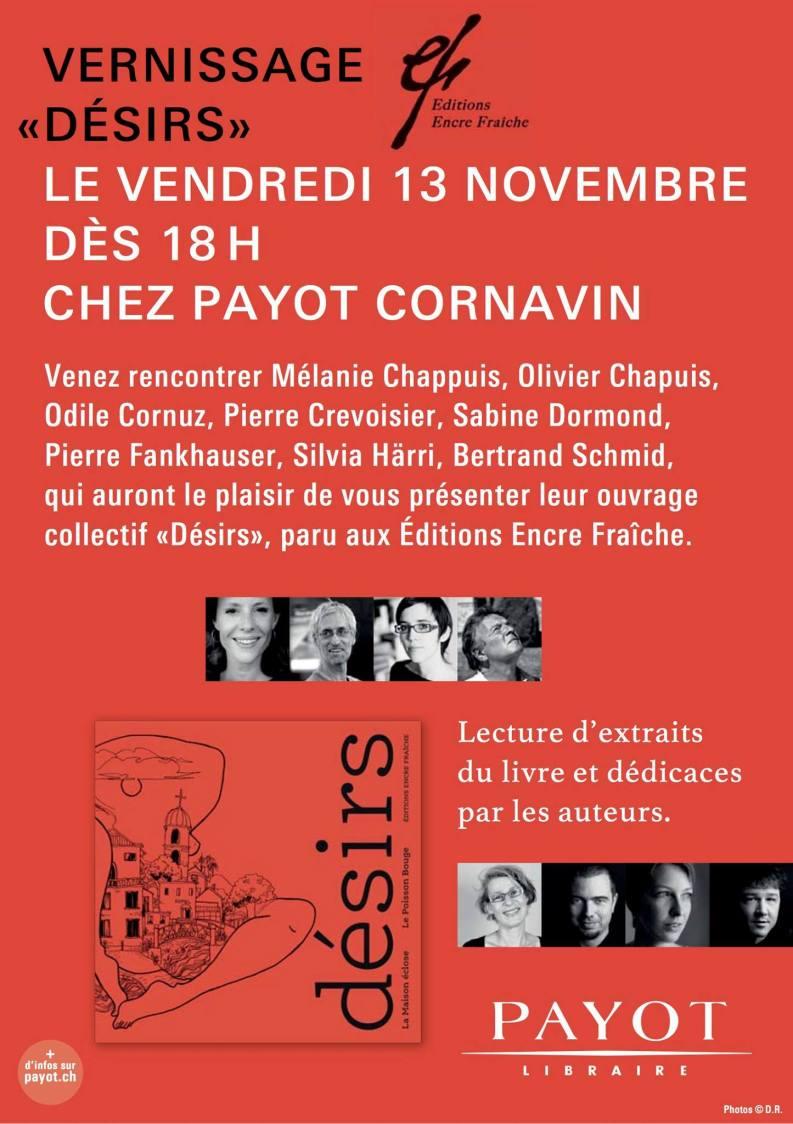 Désirs Payot Genève
