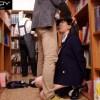 【鈴木心春】内気な女子校生を図書館で孕ませレイプ