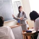 【天使もえ】憧れの先輩教師の前で生徒達に犯される新任女教師