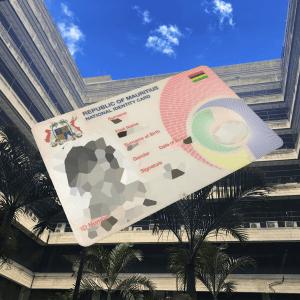 Carte d'identité Mauricienne