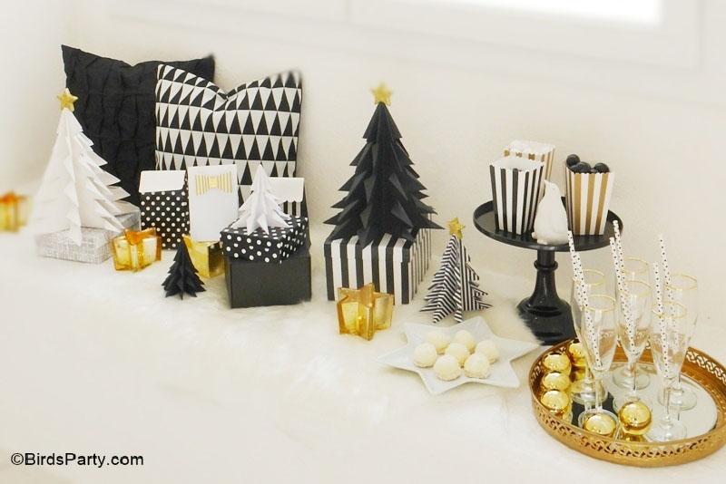Sapin de Noël en origami - (c) BirdsParty