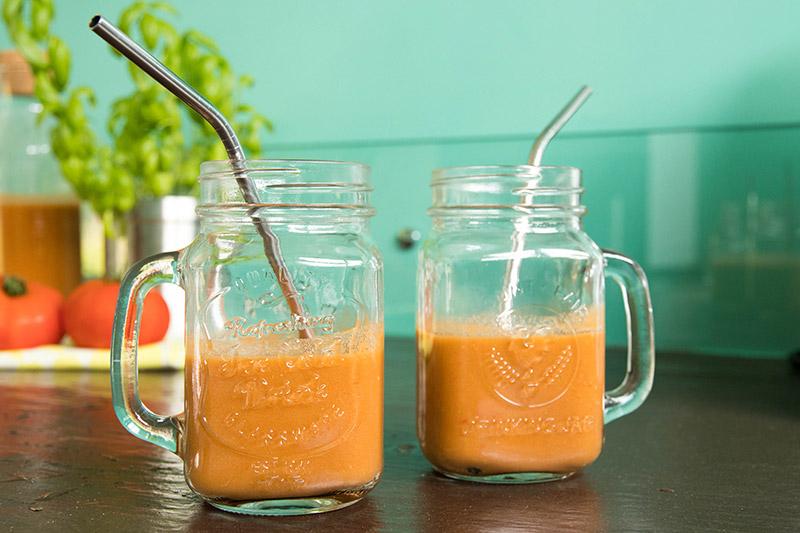 La recette du gaspacho tomates basilic à adopter de toute urgence - Avril sur un fil