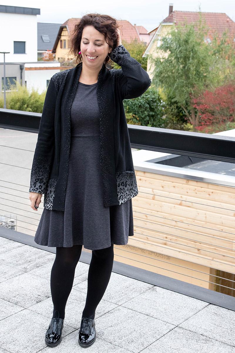 Gilet Cannelle à poches et robe Moneta - Avril sur un fil