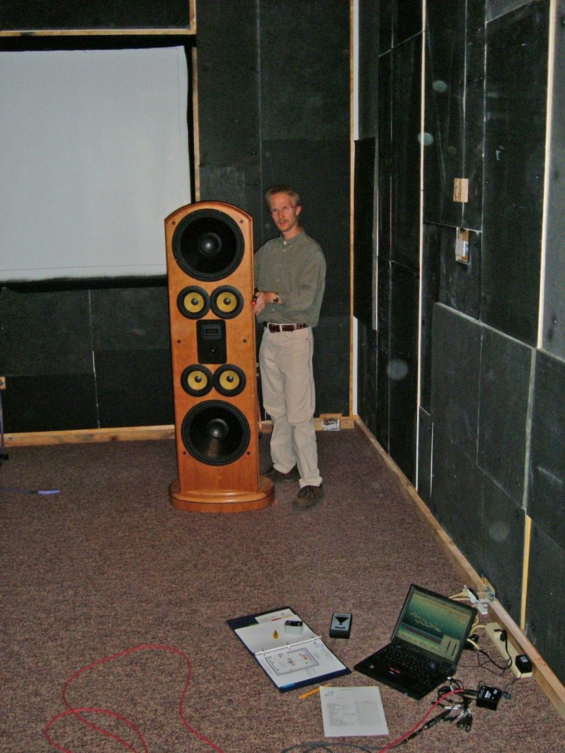 Laser-aligning Legacy speakers