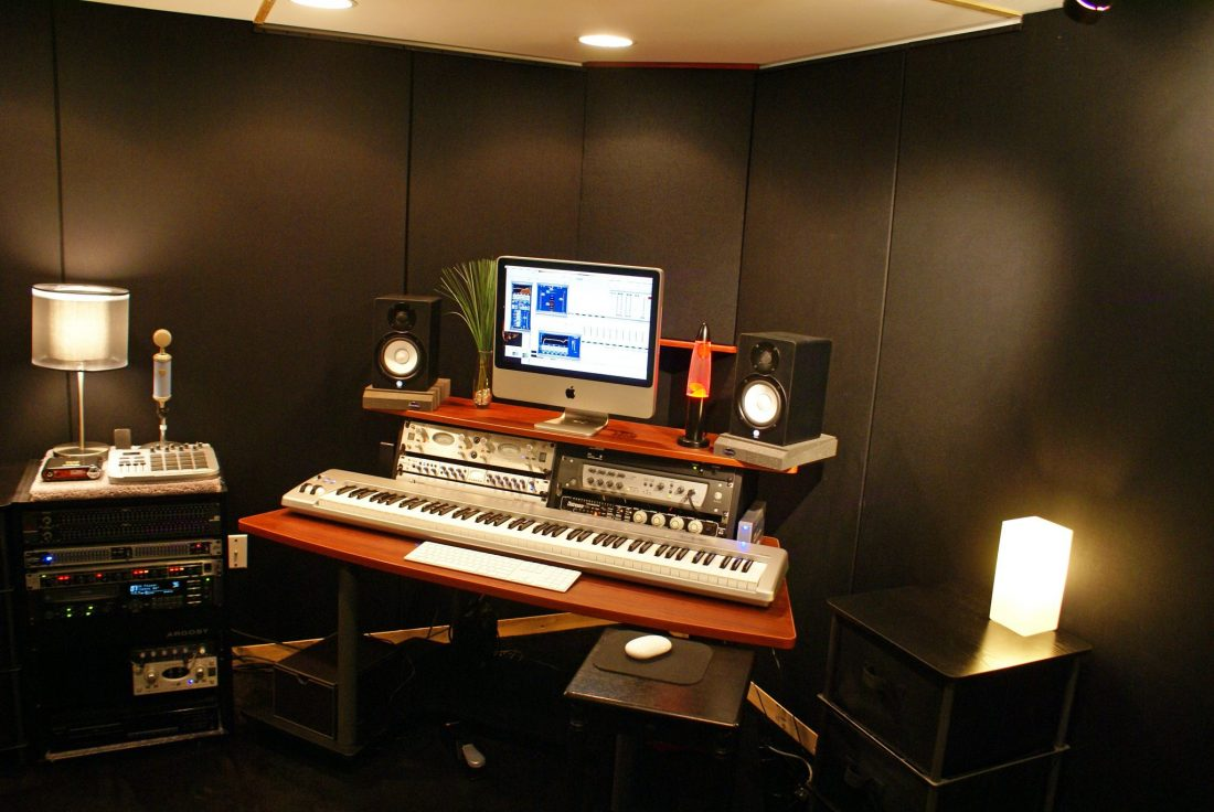 FRP home studio