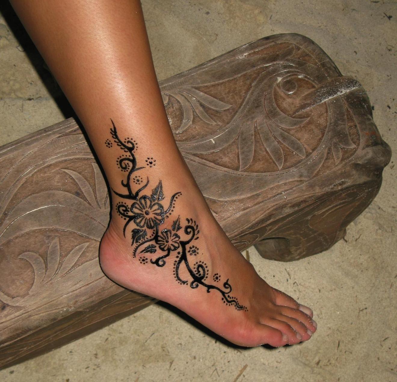 Wskazuje Tatuaż Na Kostkę Ale Znaczenie Tego Obrazu Ma Inne