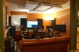 Monster Bass Traps in Home Studio