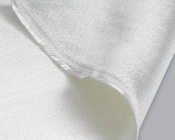 Shrunk Silica Fabric