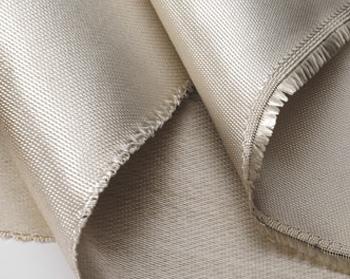 Satin weave silica fabric