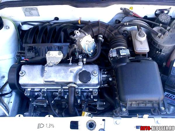 under the hood 8 valves