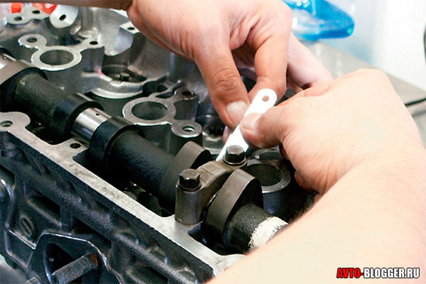 adjustment of valves