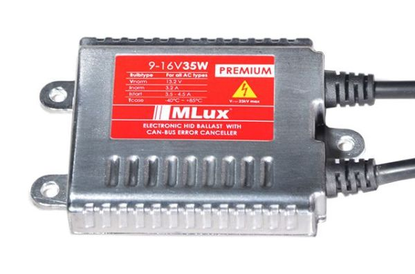 Блок розжига MLux PREMIUM 9-16 В 35 Вт