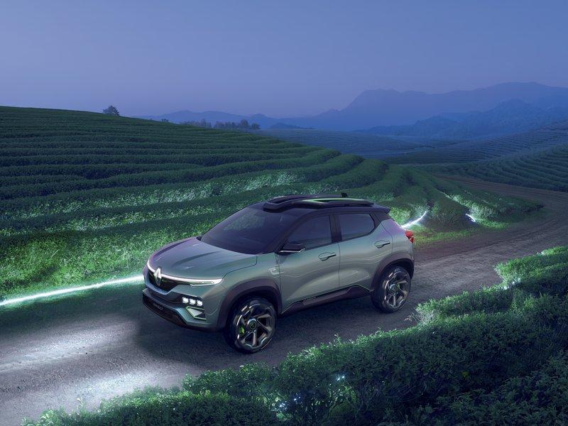 Renaultov prihodnji križanec sili na neurejene podlage