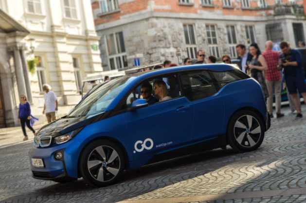 Avant2Go car sharing Ljubljana