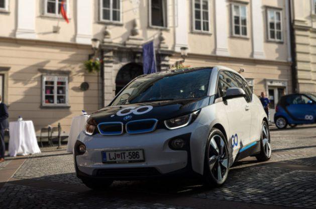 Električno vozilo BMW i3