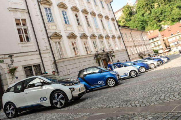 Avant2Go car sharing Ljubljana