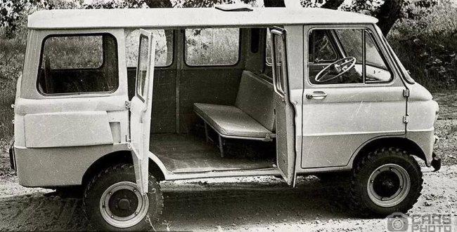 ЗАЗ был одним из первых автопроизводителей, кому удалось создать минивэн 1
