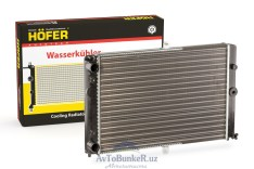 Радиатор охлаждения ВАЗ 2108-2115 (HF708412) /Hofer/