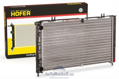 Радиатор охлаждения ВАЗ 2170 Приора без кондиционера (HF708420) /Hofer/