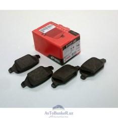 Тормозные колодки задние дисковые 11196 REMSA калина спорт
